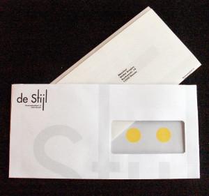 Enveloppe pour le projet de Stijl